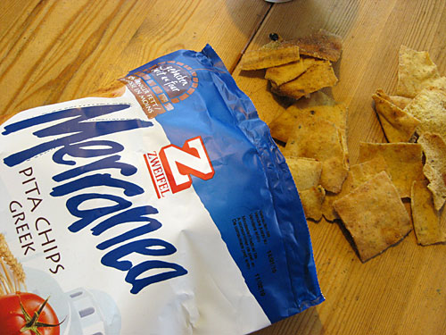 Zweifel Merranea Pita Greek Chips