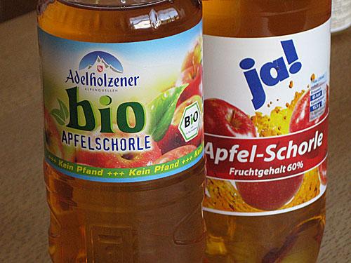 Apfel-Schorle
