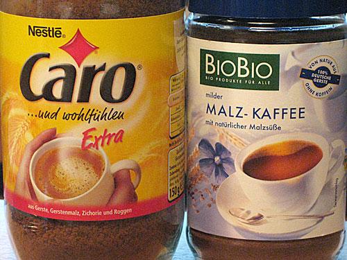 Malz-Kaffees im Vergleich