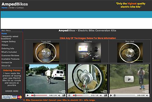Amped - das elektrische Vorderrad