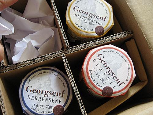 Georgsenf-Päckchen