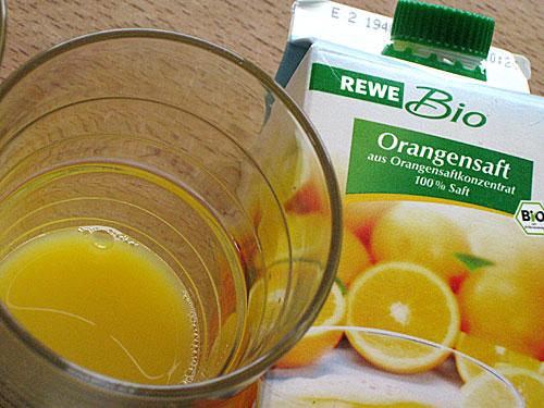 REWE Bio-Orangensaft