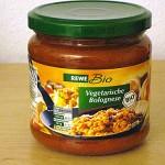 REWE Bio Vegetarische Bolognese