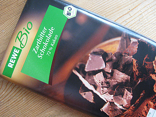 REWE Bio Schokolade