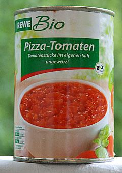 REWE Bio Pizza Tomaten