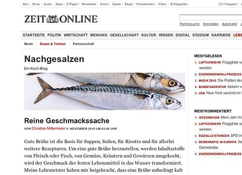 Zeit Koch-Blog: Nachgesalzen