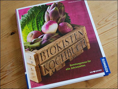 Das Biokisten-Kochbuch aus dem Kosmos-Verlag