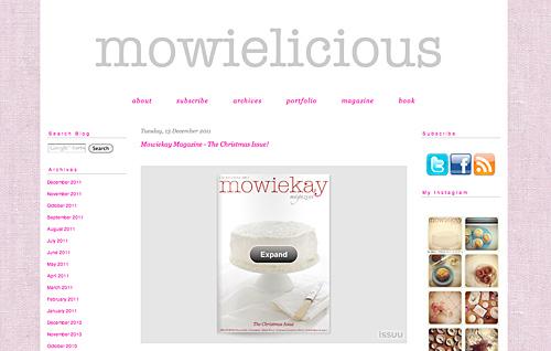 Website von Mowie Kay