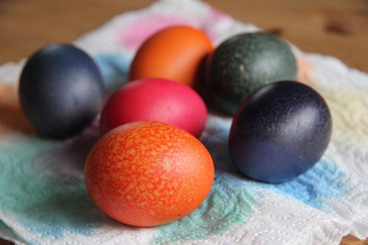 Hart gekochte Eier: schön anzusehen, aber manchmal einfach zu viel.
