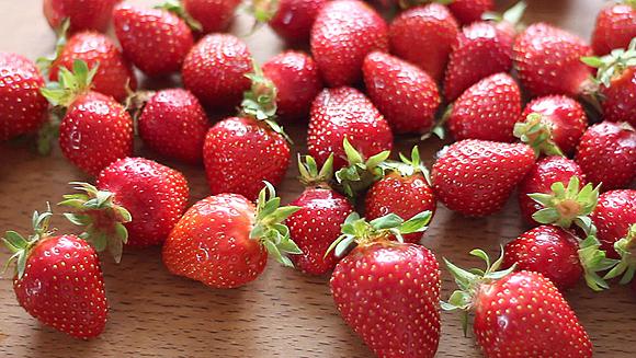 Erdbeeren - für selbstgemachte Marmelade