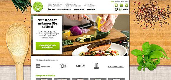 Kochen 2.0 - Menüs aus dem Netz