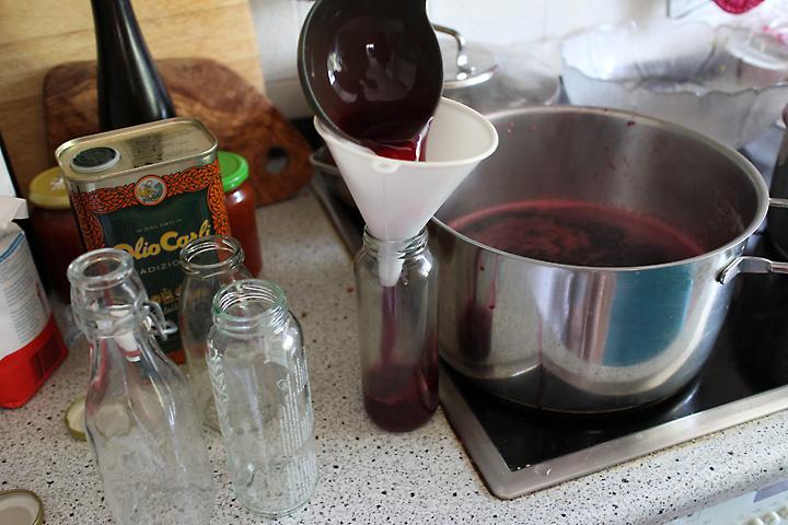 Fruchtsaft kochen