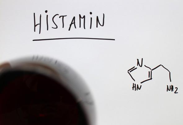 Histamin im Wein