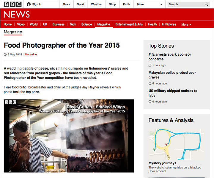 Food Photographer of the Year 2015