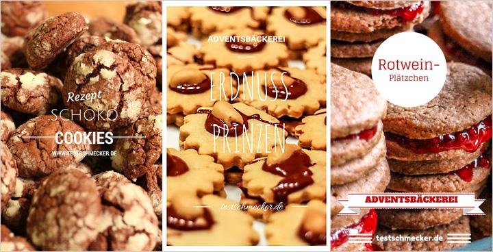 Adventsbacken - 3 Rezepte für Weihnachtsgebäck