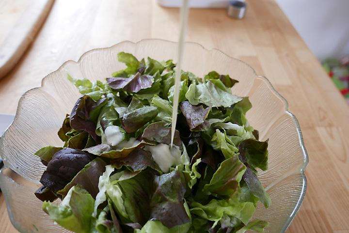 Schüttelglas für Salatsaucen