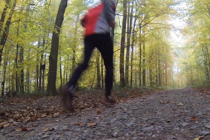 Macht bei jedem Wetter Spass: Laufen im Freien.