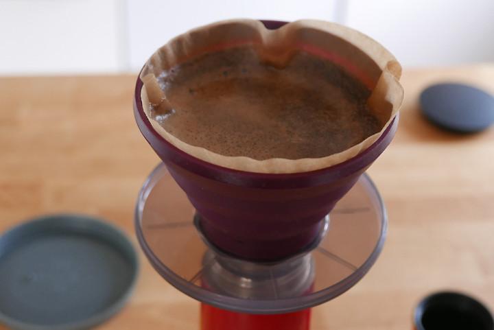 Auch zum Kaffee machen mit Thermosflaschen praktikabel.