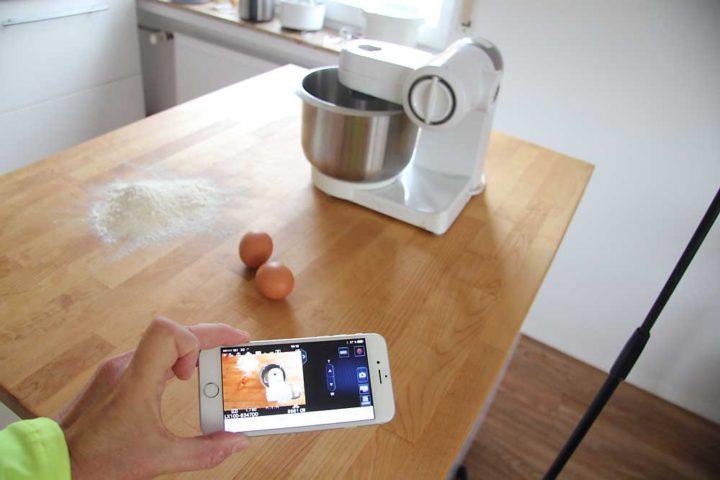 Die Lumix-App lässt viele Einstellungen per Fernsteuerung zu.