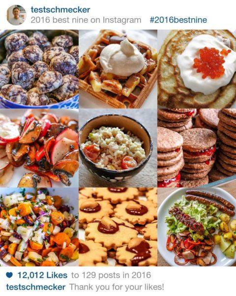 Die besten Testschmecker-Fotos 2016 auf Instagram