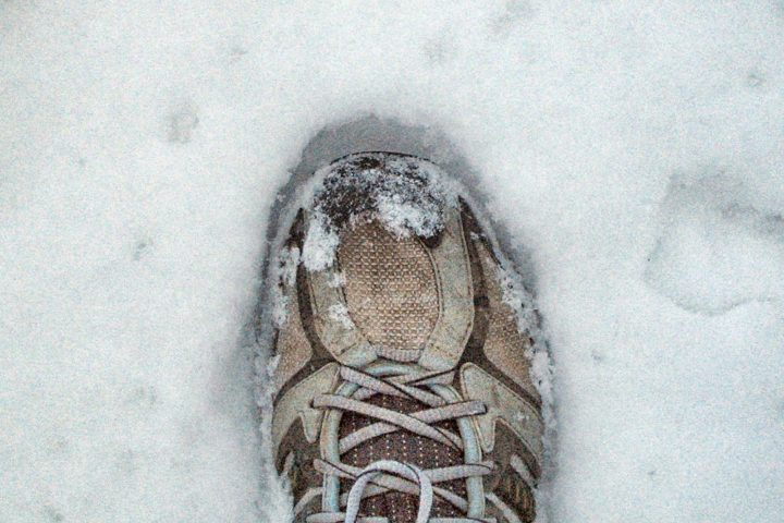 Laufen im Winter: Schnee und Eis können eine ganz schöne Herausforderung sein.