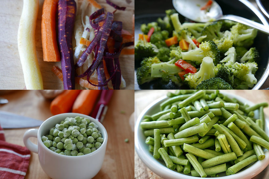 Gemüse zubereiten: wenig Aufwand, guter Geschmack, viele Nährstoffe.