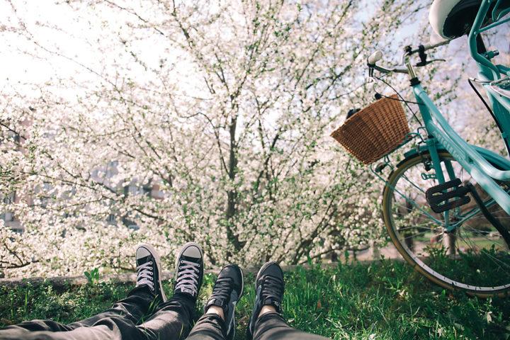 Radfahren ist für viele Menschen besonders im Frühling verlockend.