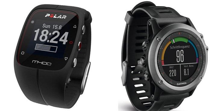 GPS-Uhren bilden das obere Ende auf der Skala der Fitnessuhren.