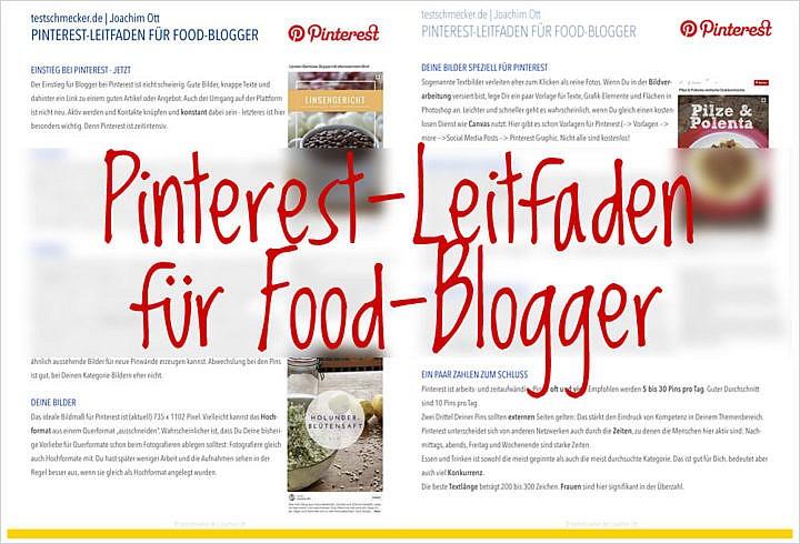 Der Pinterest-Leitfaden für Food-Blogger wurde komplett überarbeitet.