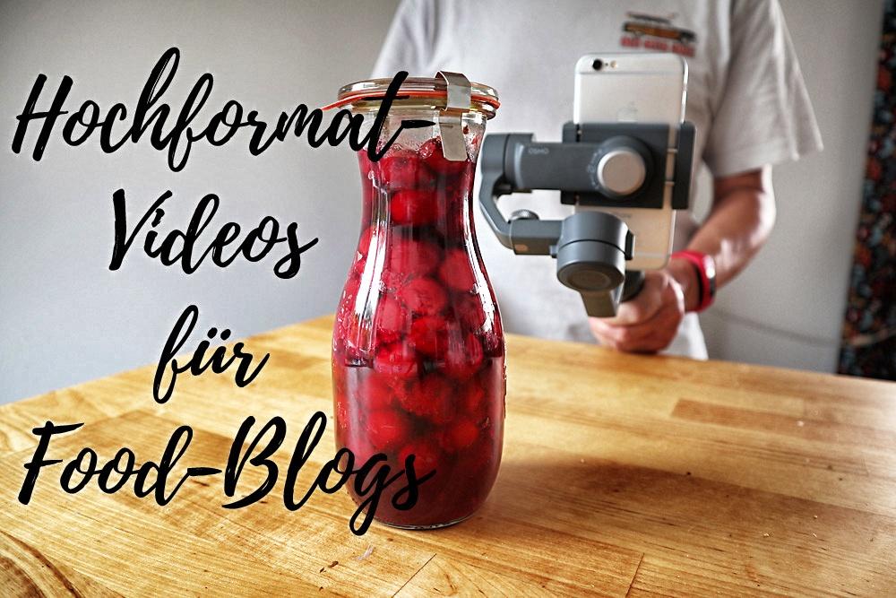 Hochformat-Videos für Food-Blogs? Die beliebten quadratischen Formate werden sie sehr wahrscheinlich nicht ablösen.