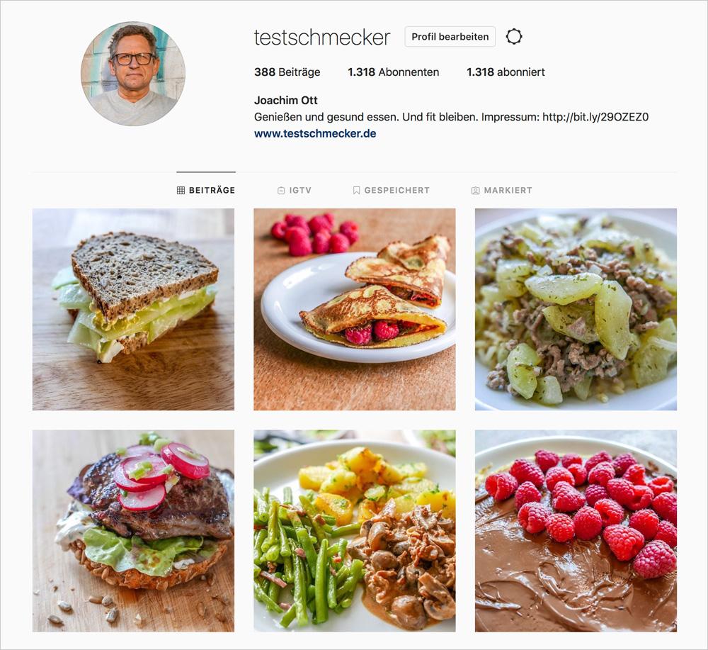 Instagram-Tipps für Food-Blogger: Kontinuität. Gerade zu Beginn sind schnelle Erfolge wichtig, damit man leichter dran bleibt. Denn Kontinuität ist wichtig.