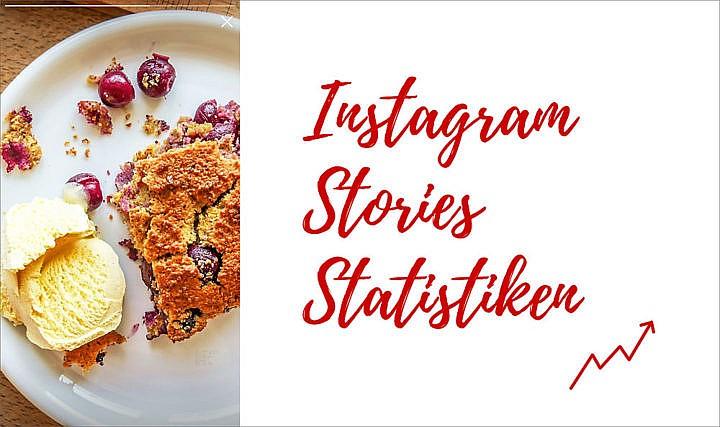 Instagram Stories Statistik: Um den Erfolg Deiner Stories im Blick zu behalten und voran zu bringen, lohnt sich der Blick in die Statistik.