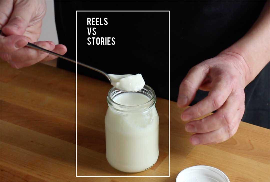 Reels oder Stories - was ist sinnvoller für Deinen Food-Account?