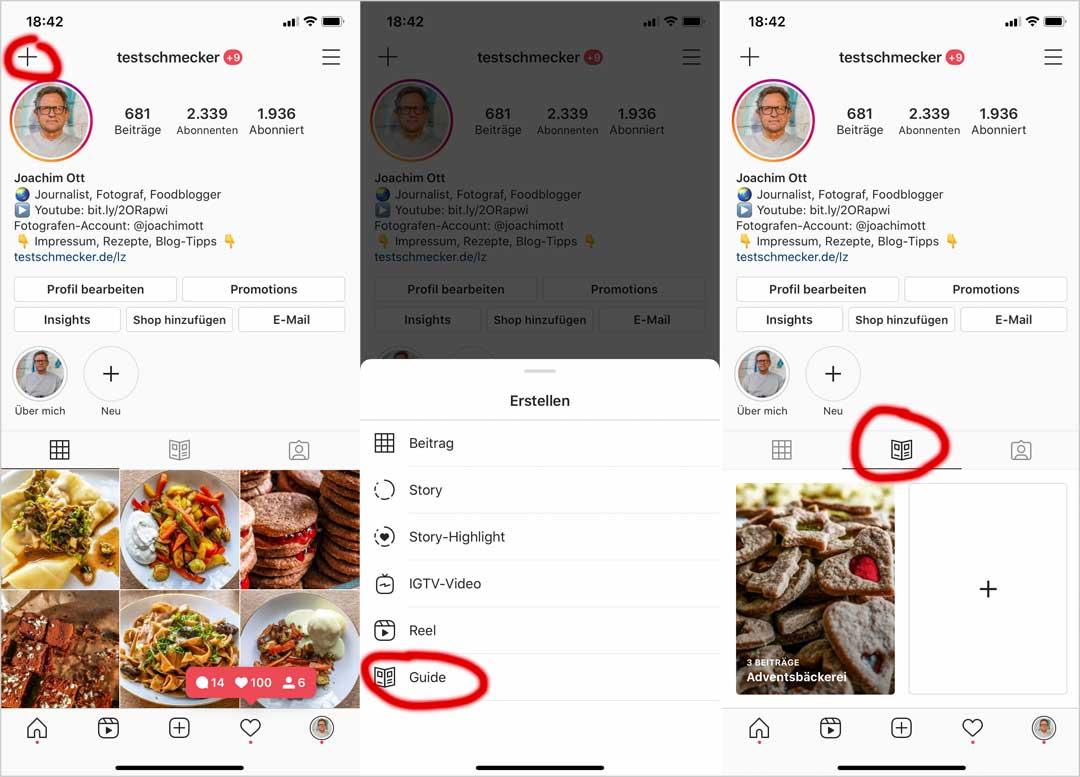 Instagram Guides in wenigen Schritten: So geht's...