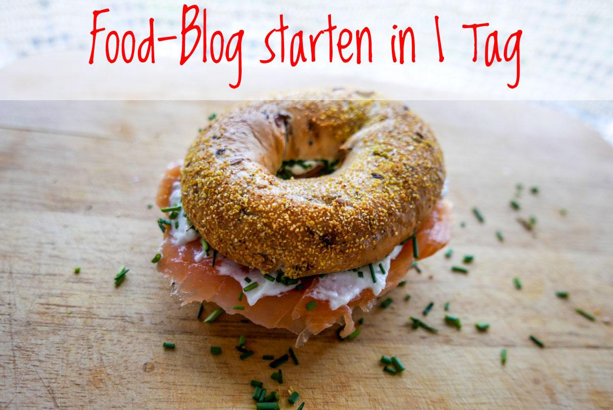 Starte Dein Food-Blog in nur einem Tag