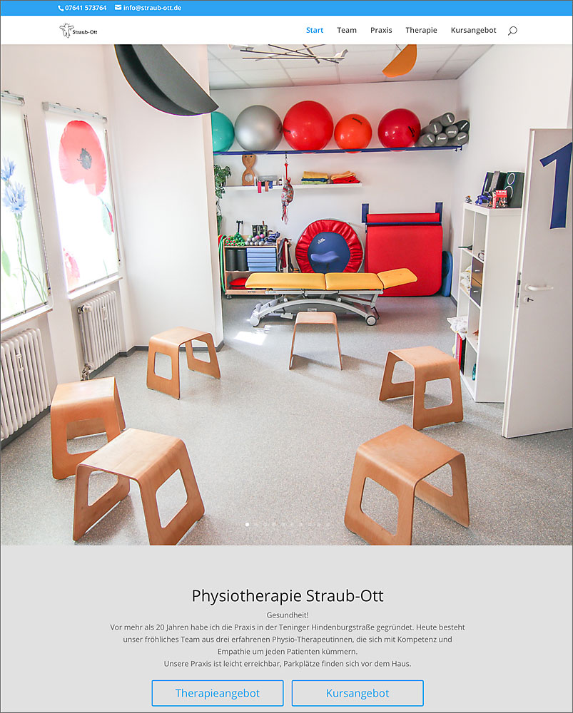 Physiotherapie-Praxis Straub-Ott in Teningen