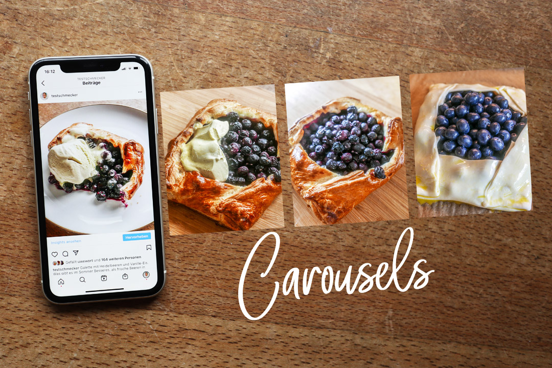 Instagram Carousels sind eine Foto-Lösung für mehr Engagement Deiner Besucher.