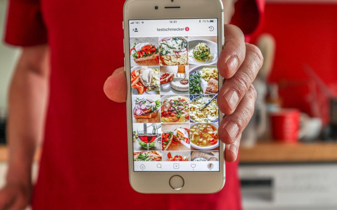Instagram Leitfaden für Foodblogger 2021