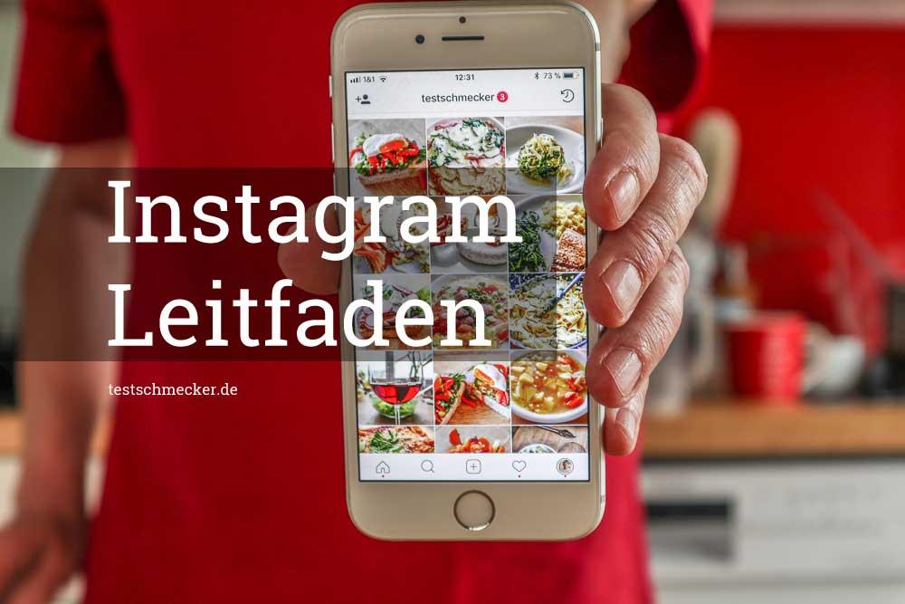 Den Instagram Leitfaden für Foodblogger 2021 gibt es kostenlos.