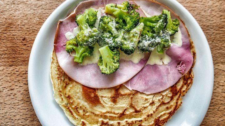 Brokkoli mit Gorgonzola-Sauce
