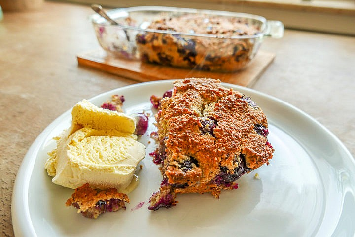 Schmeckt mit Vanille-Eis oder Vanille-Sauce, als Auflauf oder Kuchen.