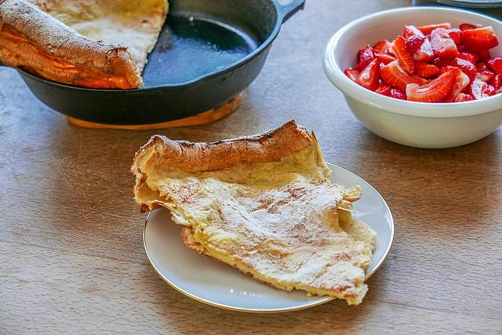 Ideal für die Zubereitung: eine ofenfeste Pfanne.