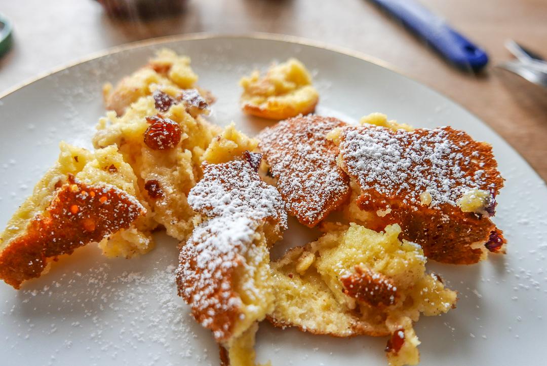 Zerrupft und dampfend: aus dem Ofen auf den Teller.