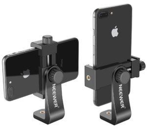 Eine Smartphone-Halterung brauchts für den Einsatz von Stativ und / oder Gelenkarm.