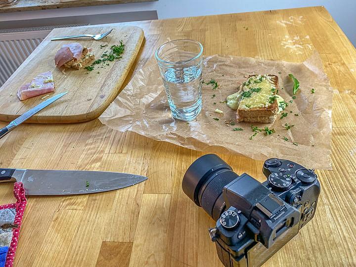 Food Fotografie: Ein Sandwich ist ein dankbares Objekt .