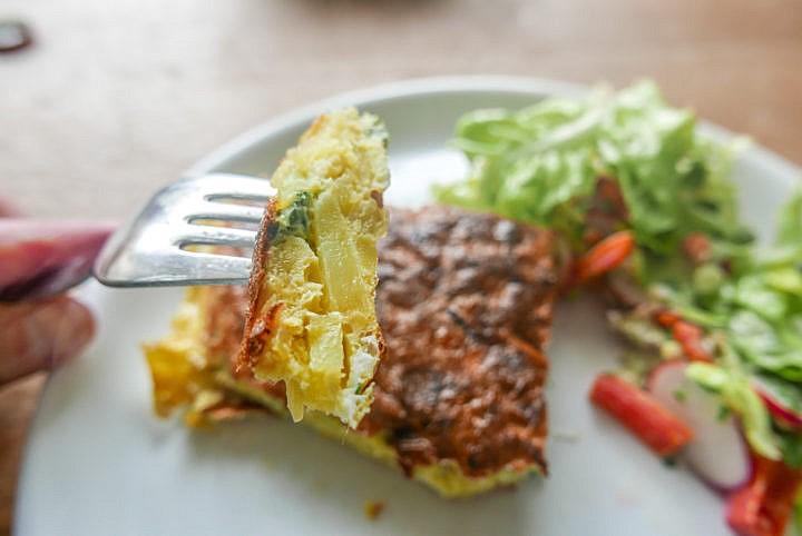 Tortillas de Patatas - klingt doch gleich viel besser als Omelette mit Kartoffeln
