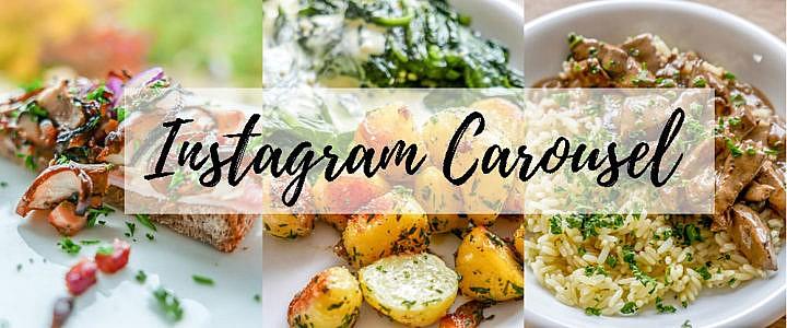 Instagram Carousels und wie Du sie für Deinen Food-Account nutzen kannst: Zum Beispiel für Anleitungen.