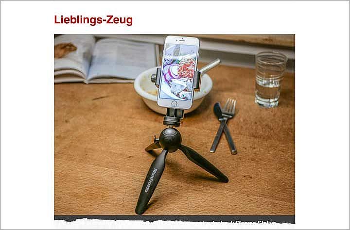 Lieblingszeug ist eine Rubrik, die es nur im Newsletter zum Foodblog Testschmecker gibt.